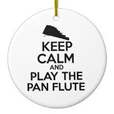 keep calm and play flute ornaments keepsake ornaments zazzle