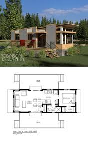 Contemporary House Plans by Best 25 1 Bedroom House Plans Ideas On Pinterest Guest Cottage