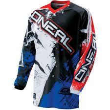motocross kids gear oneal new 2017 mx shocker black blue red dirt bike motocross gear