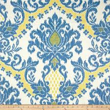 waverly bedazzle ikat blend blue sky discount designer fabric