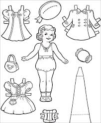 template for paper dolls 28 images doll template to print out