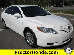 2007 toyota le used 2007 toyota camry le sedan car for sale in tallahassee fl