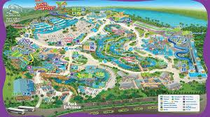 Aquatica Map Parque Aquatica Em Orlando