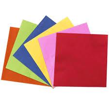 color paper napkins jam paper
