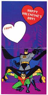 batman valentines batman s day cards through history