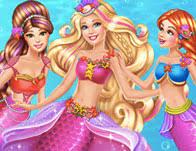 barbie painting barbie mermaid tales 2 games girls