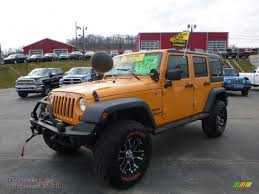jeep rubicon yellow 2012 jeep wrangler unlimited sport 4x4 in dozer yellow 160216