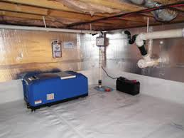 Waterproof Flooring For Basement Crawl Space Waterproofing Solutions For Removing Water In Crawl