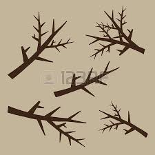 black trees and roots silhouettes with leaves tree root flora