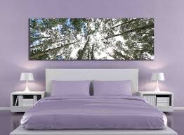 Home Decor Tree by Big Aspen Tree Photograph Large Panoramic Canvas Print Nature
