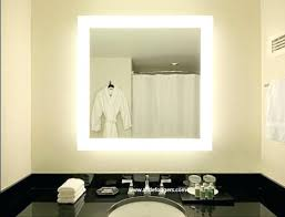 Bathroom Mirror With Lights Built In Shining Bathroom Mirrors Led Parsmfg