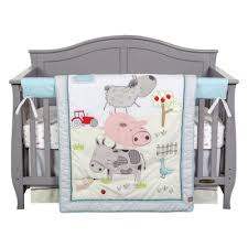 Farm Crib Bedding Farm Stack 4 Crib Bedding Set Trend Lab