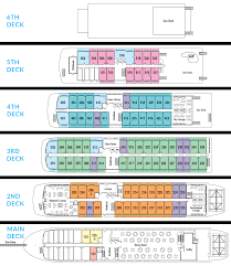 Disney Cruise Floor Plans by Lower Mississippi River Cruise