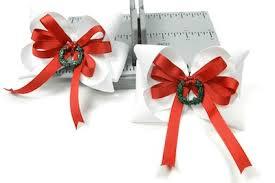 christmas gift bow handmade christmas gifts bowdabra hair bows bowdabra