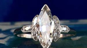 elegant art deco diamond rings design alsayegh