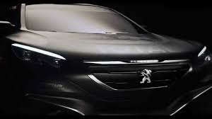 peugeot car one peugeot reveals new car for 2015 dakar rally youtube