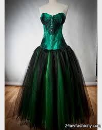 green gothic prom dresses 2016 2017 b2b fashion