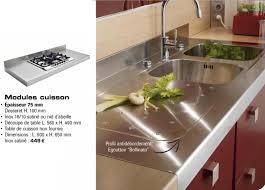 lapeyre plan de travail cuisine cuisine plan de travail plus résistant que le bois pas trop cher