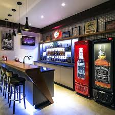 Finished Basement Bar Ideas Astounding Basement Bar Pictures Cool And Masculine Basement Bar