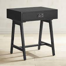 Antique Accent Table Antique Black Drawer Accent Table