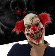 evil clown mask ebay