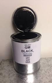 gm black jet black chevrolet chevy wa8555 u41 u20 gba 1 pint