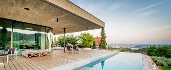 Family Home Architects U0027 Poolside Family Home Overlooks City In Austria