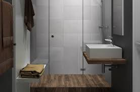 minimalist bathroom interior with grey wall tiles from ceramica
