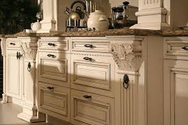 Cream Kitchen Cabinets by Cream Painted Kitchen Cabinets On 1600x1067 Blue Or Cream