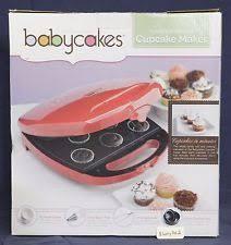 baby cakes maker babycakes cupcake muffin maker ebay