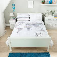 World Map Bedding Exciting Asda Bedding Sets Sale 24 With Additional Duvet Cover
