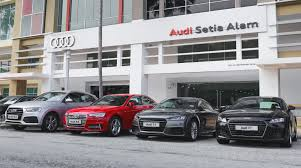 audi dealership japanese audi dealer sets up shop in setia alam auto news
