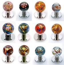 Decorative Glass Door Knobs art glass doorknobs