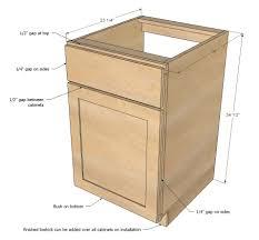 Standard Kitchen Cabinet Sizes Kitchen Floor Cabinet Best Kitchen Designs