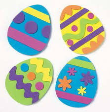 paper easter eggs kids easter crafts and activities crafts