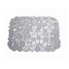 protege evier cuisine blisshome tapis d évier gris achat vente tapis d évier
