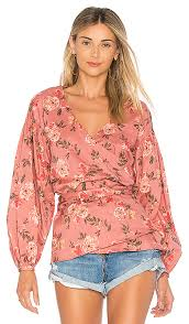 wrap blouses wrap it up our favorite wrap blouses fashion trends daily