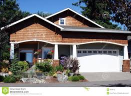 Craftsmen Style Craftsman Style House Detail Royalty Free Stock Photography