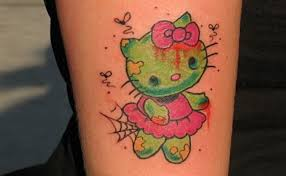 5 cute hello kitty tattoo designs for tattoo lovers style presso