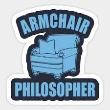 Armchair Philosopher Philosophy Kant Nietzsche Xistefacil Kantnietzsche Philosopher