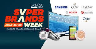 lazada super brands week sale day 1 flash sale items list barat ako