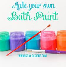 Paint For Bathtubs Homemade Bath Paint Recipe