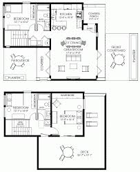 contemporary small house plan 61custom modern plans for narrow