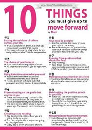 10 things you must give up you must for and coaching