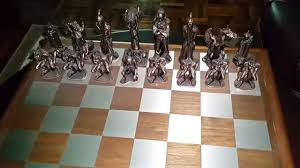 lord of the rings chess set youtube