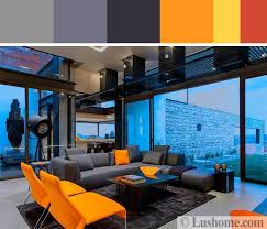 5 beautiful orange color schemes to spice up your interior design