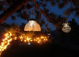 night garden solar lights at night the sparkle is amazing when the solar cells light diy