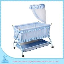 portable folding baby bed swinging baby crib with mosquito net