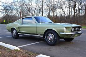 1967 fast back mustang 1967 ford mustang gta fastback 390 for sale on bat auctions