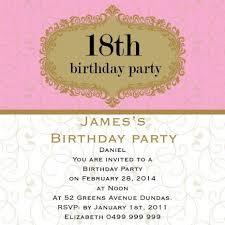 33 best 18th birthday invitations u0026 inspirations images on